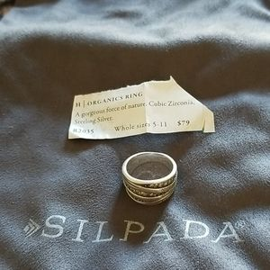 Silpada Organics ring